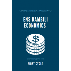 Economics First Cycle ENS...